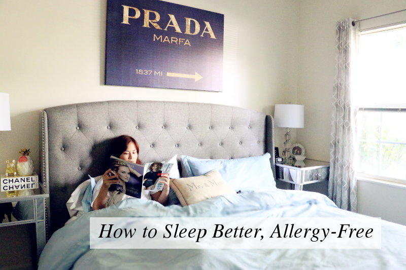 How to Sleep Better, Allergy-free, health and wellness