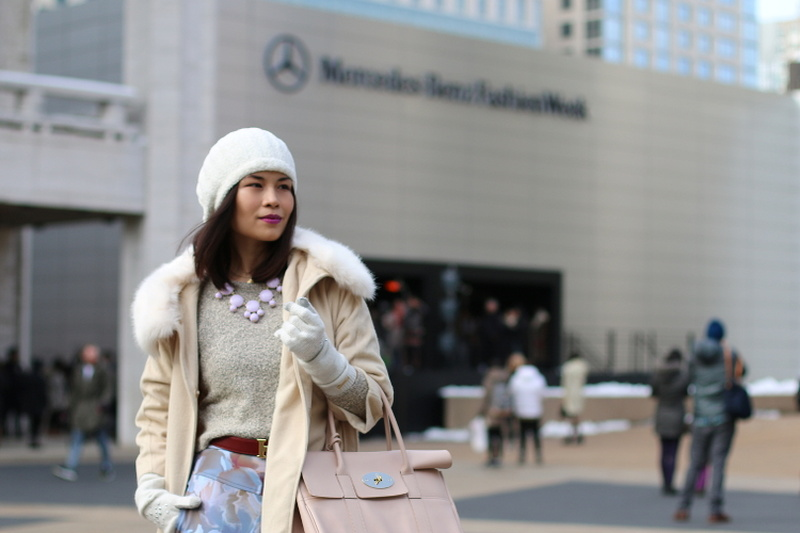 NYFW FW14 Day3 OOTD, New York Fashion Week, fashion, style, hermes belt, mulberry bag, beanie