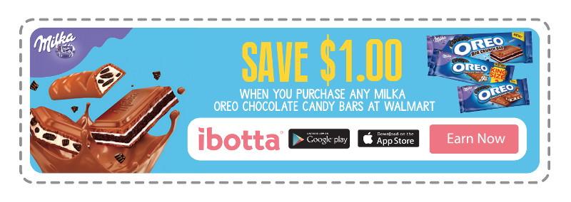 Milka Oreo Ibotta Offer, Walmart