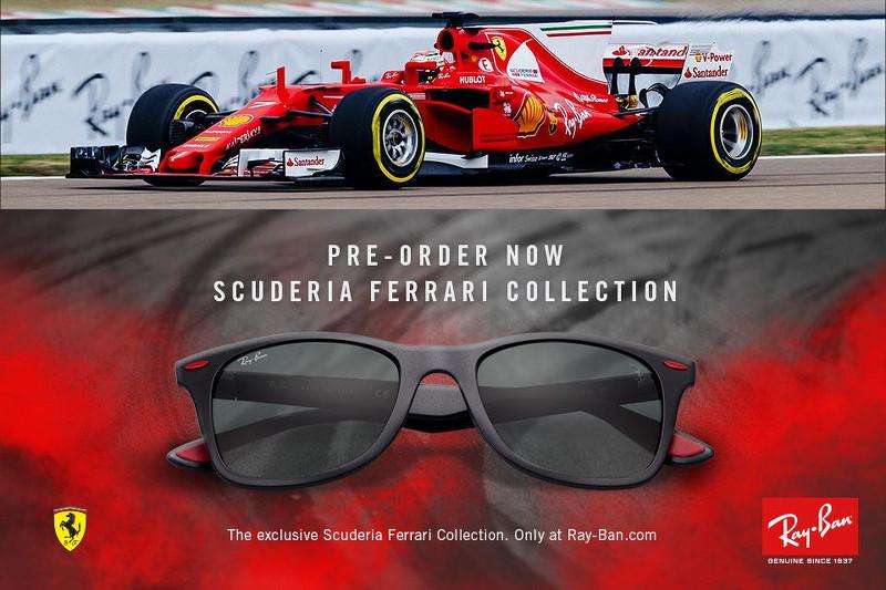 Ray-Ban Scuderia Ferrari Collection sunglasses, Formula 1, F1