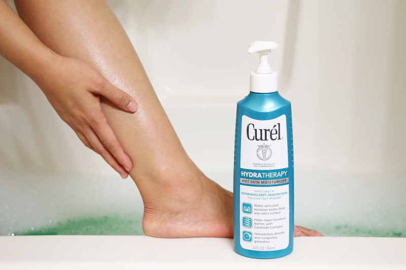 Curel Hydra Therapy Wet Skin Moisturizer, lotion, dry skin