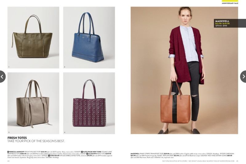 nordstrom anniversary sale fall bags, totes