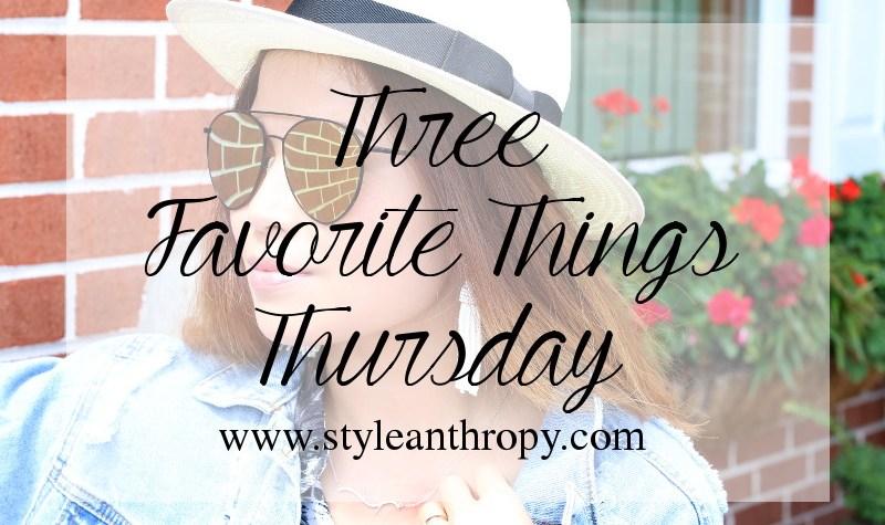 three-favorite-things