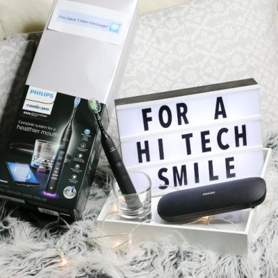 Philips Sonicare DiamondClean Smart Toothbrush, tech gift, letterboard