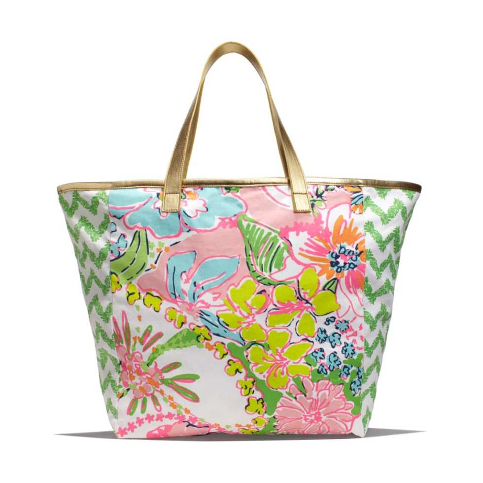CANVAS SHOPPING TOTE - NOSIE POSEY AND BELLADONNA $15