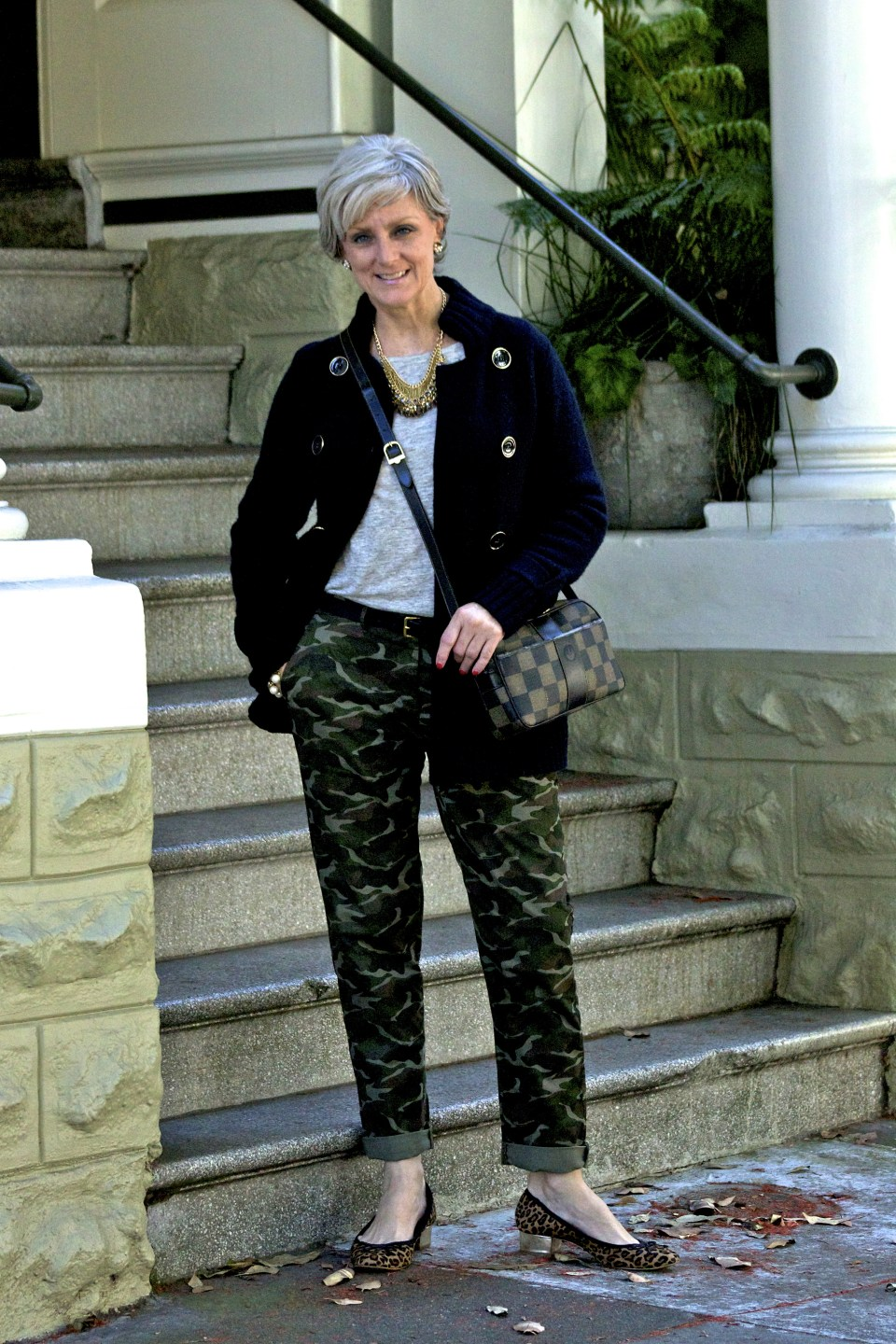 camo and leopard