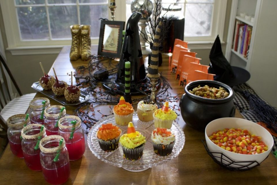 halloween witches tea party