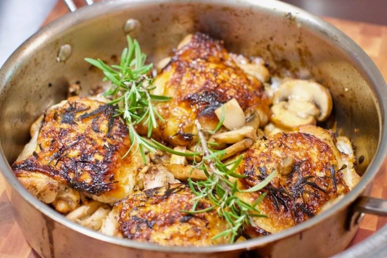 FWO | Lemon Rosemary Chicken