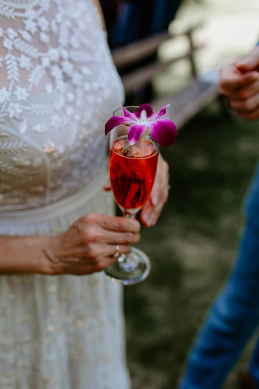 signature cocktail aperol spritz