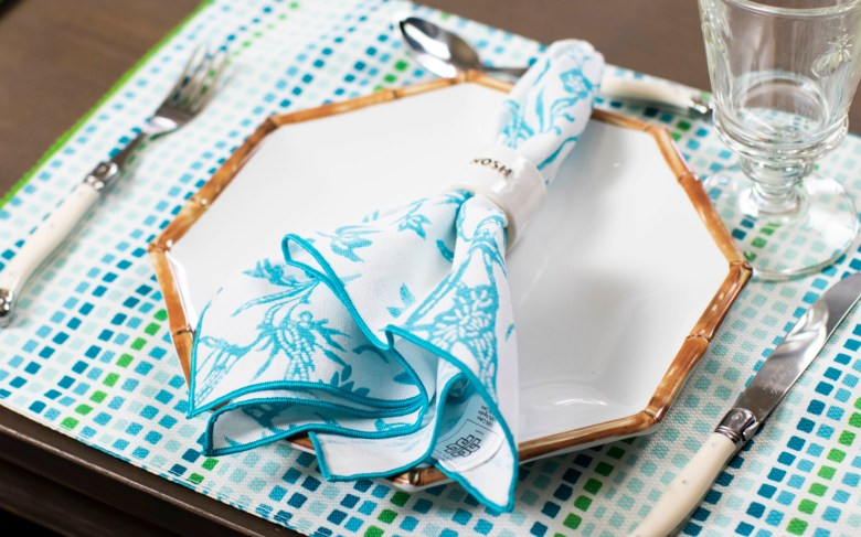 patricia heaton placemats and napkins