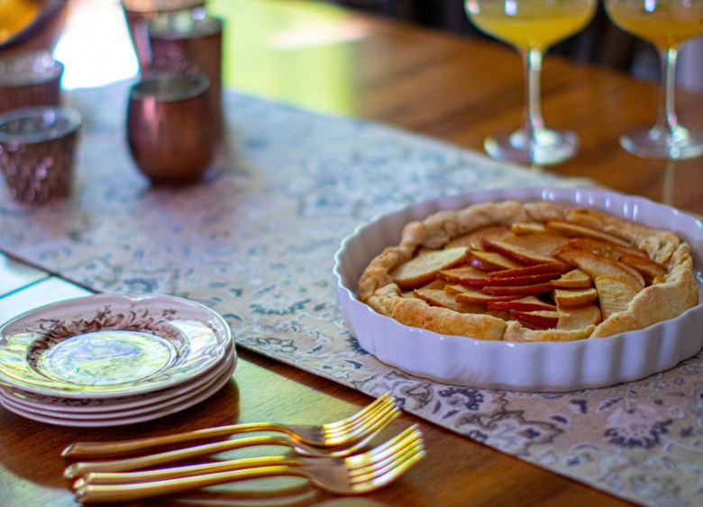 patti labelle free form apple tart