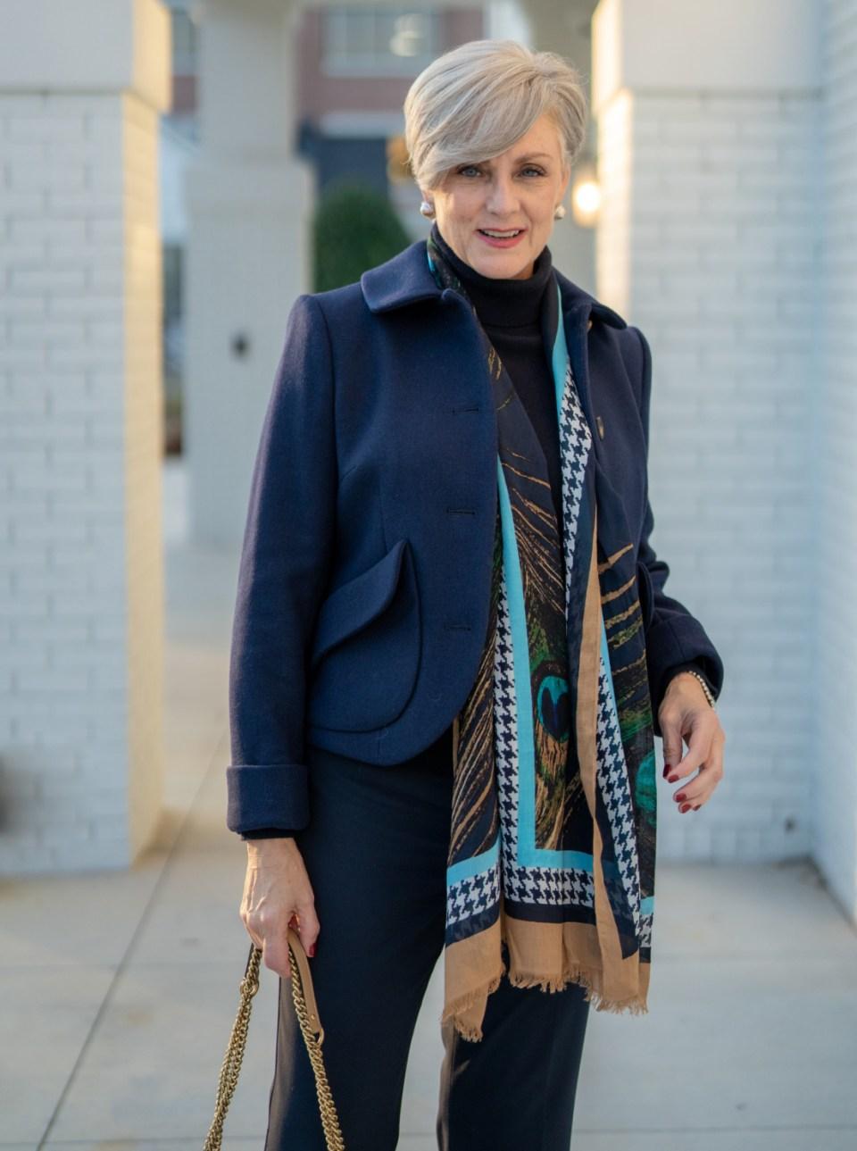 monochromatic outfit idea