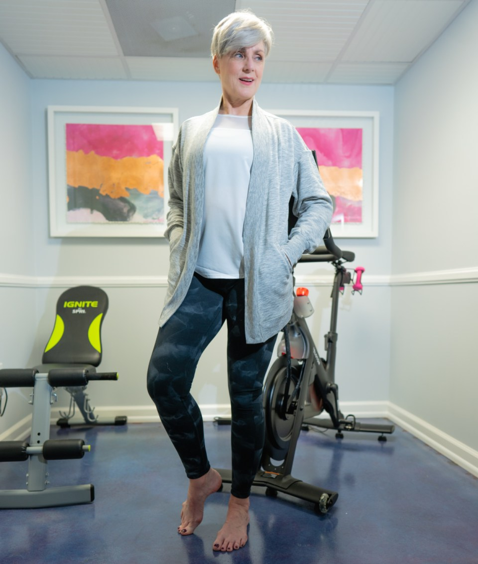 riding into 2021 with Peloton and Zella