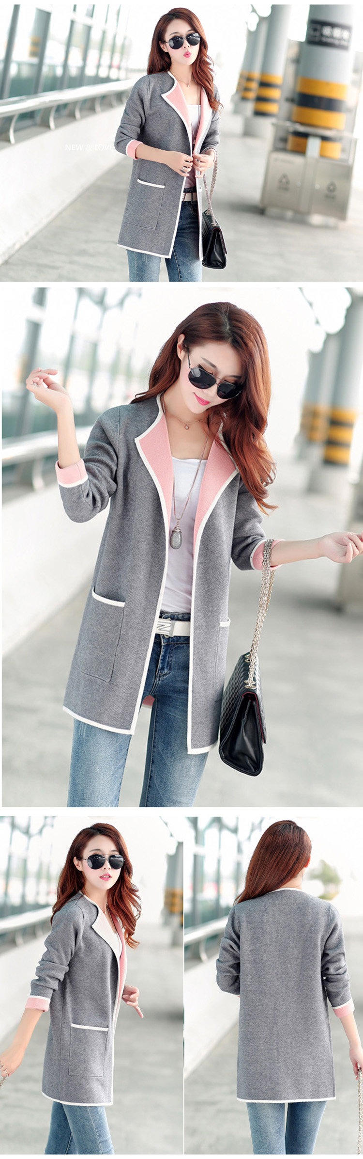 Coat Sweater Cardigan For Women