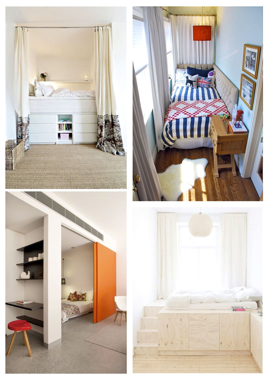13 Small Bedroom Ideas - Style Barista on Ideas For Small Rooms  id=50353
