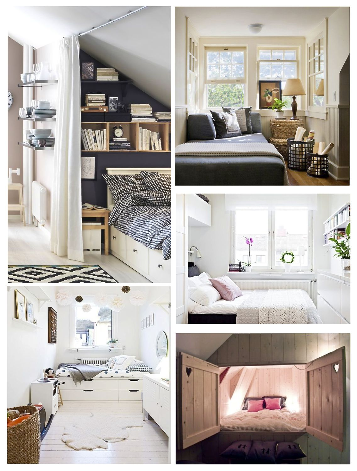 13 Small Bedroom Ideas - Style Barista on Girls Bedroom Ideas For Very Small Rooms  id=41365