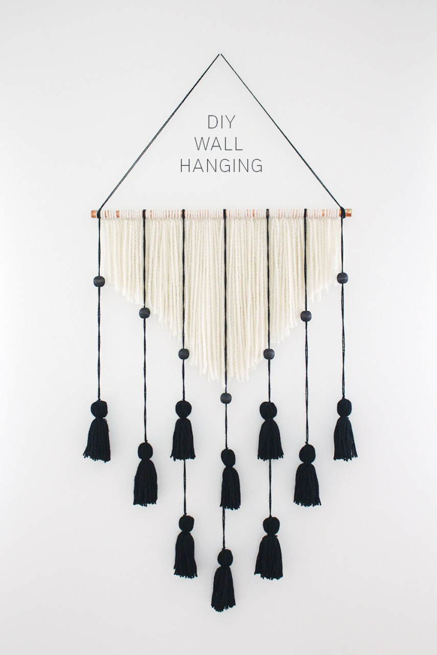 Style Bee - Wall Hanging DIY