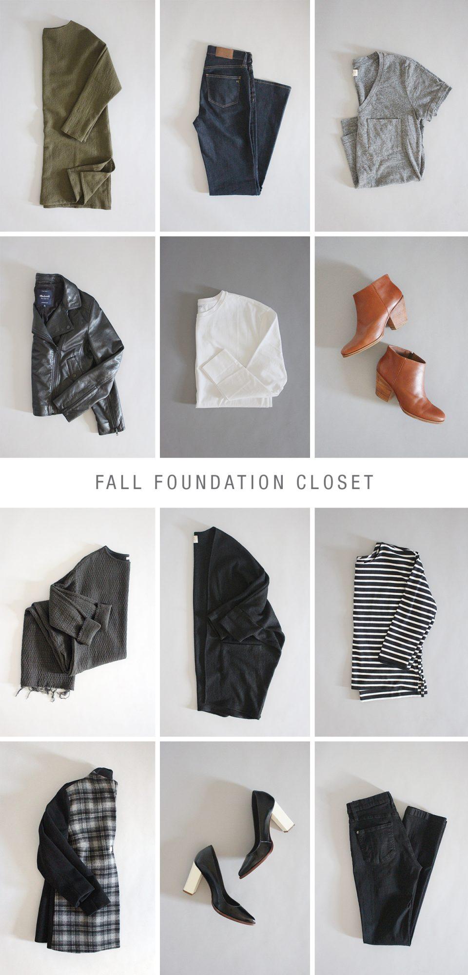 Style Bee - Fall Foundation Closet