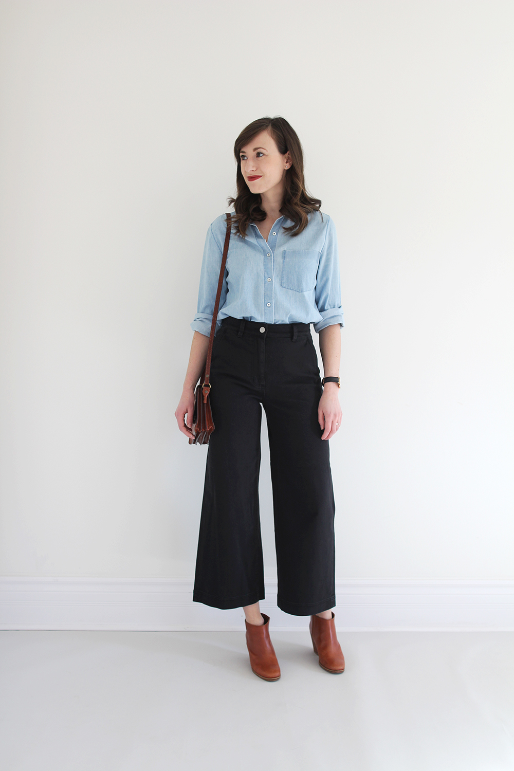Style Bee Wide Leg Crop Pant Review