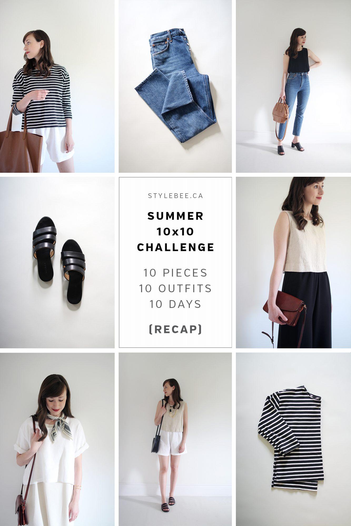 Style Bee - Summer 10x10 2017 - RECAP