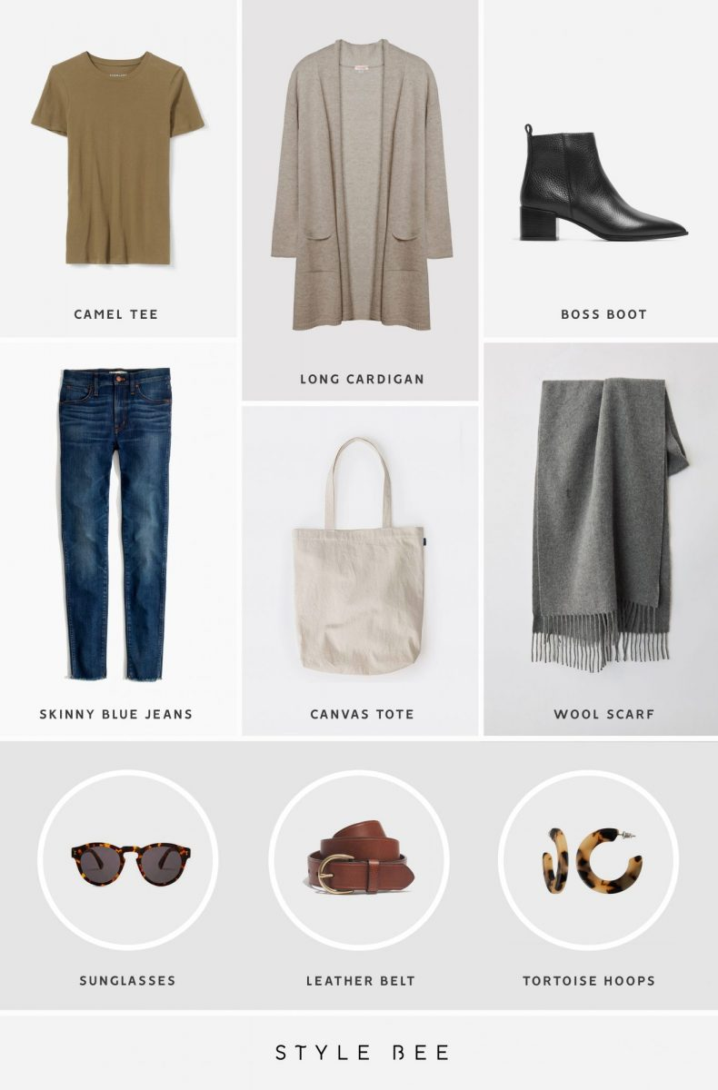 Style Bee - A Dozen Easy Outfits For Early Spring