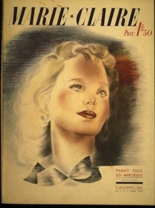 Marie Claire; 1937; Image Source: marieclairegroup.com