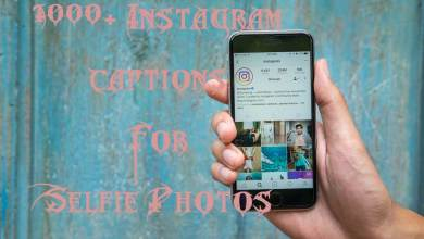 Instagram-Captions-for-Selfie