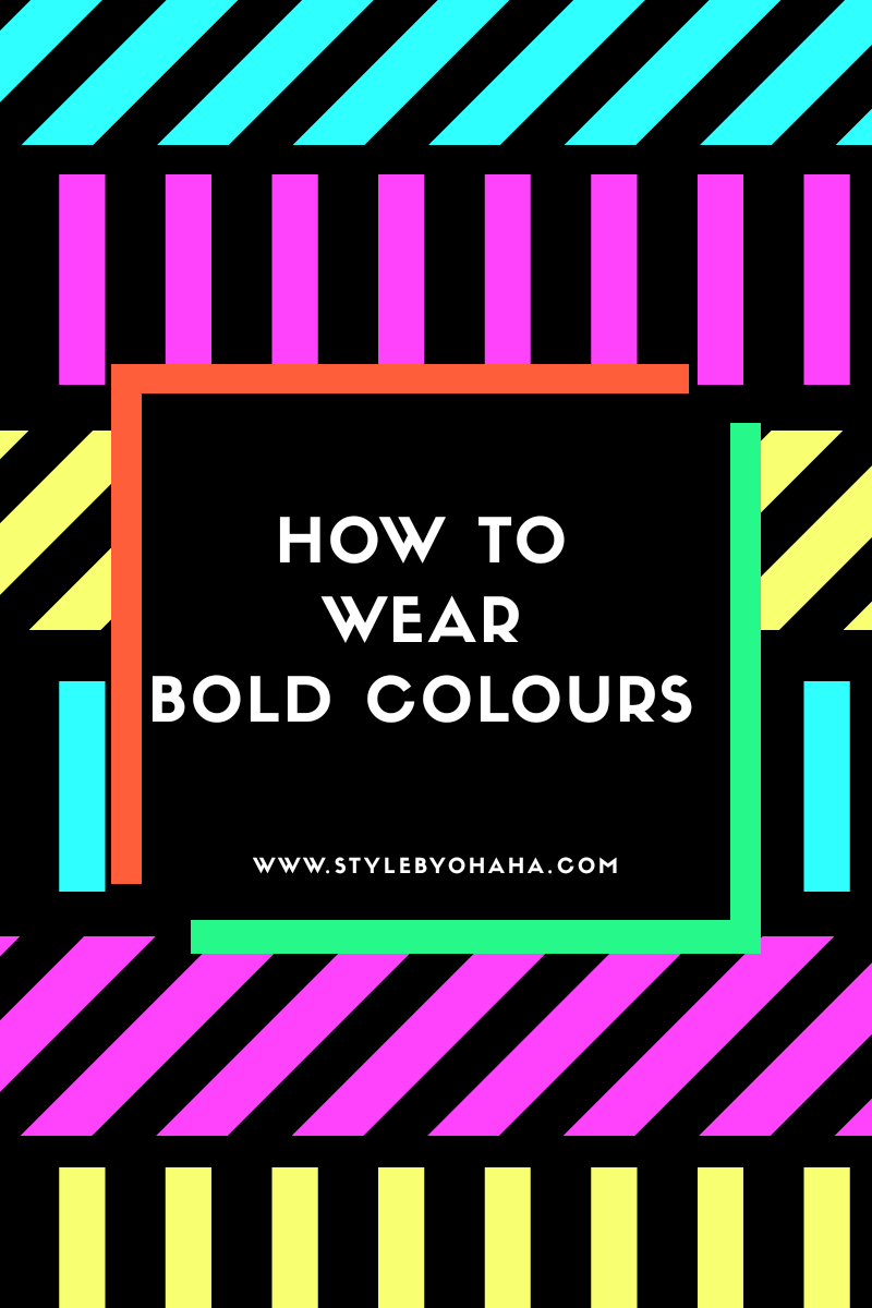 How to Wear Bold Colors