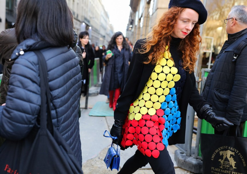 Bold colors in PFW