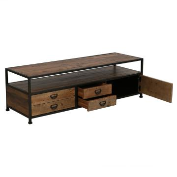 meuble tv hifi bois metal manufacture