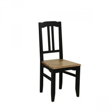 style campagne chaise esquisse noir