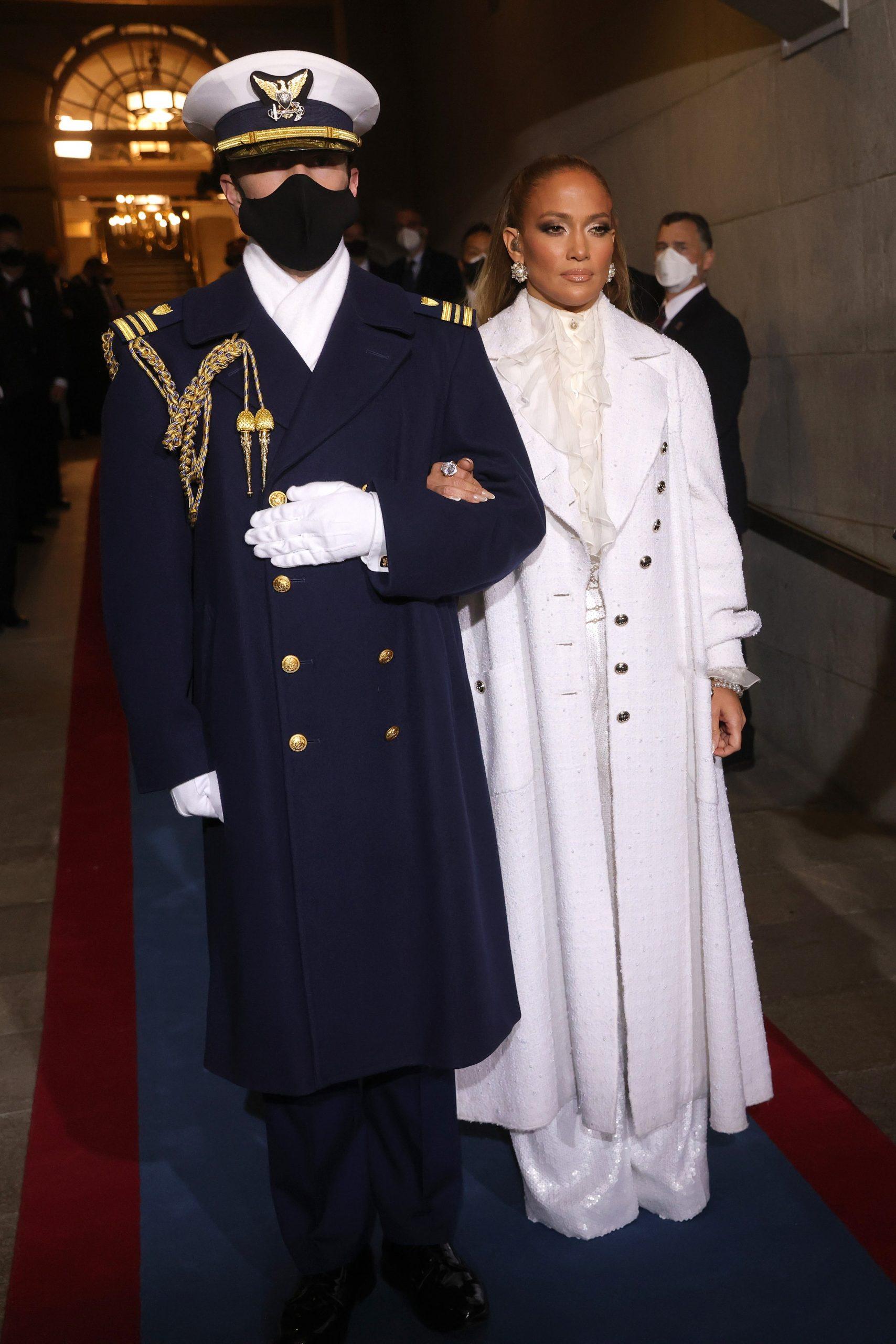 Jennifer Lopez Inauguration Chanel