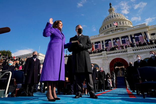Kamala Harris Inauguration Purple Coat