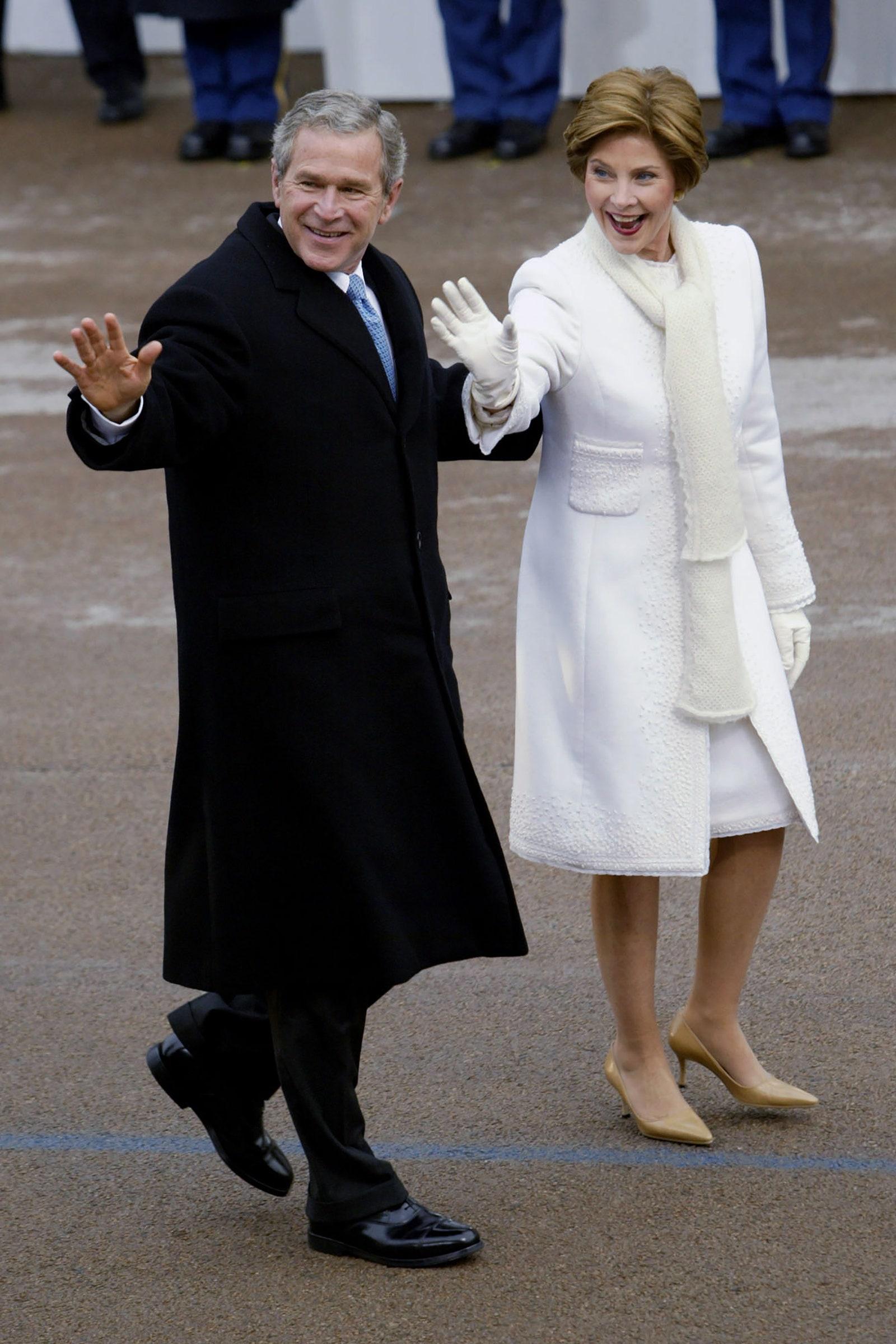 Laura Bush Inauguration 2005
