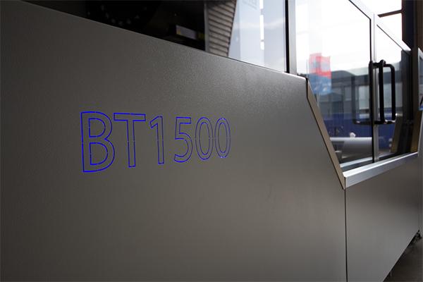 BT1500 freesbank nieuw plaatwerk