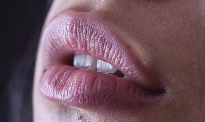 DIY Lippenmaske