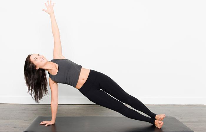 2. Vasisthasana (Side Plank Pose)