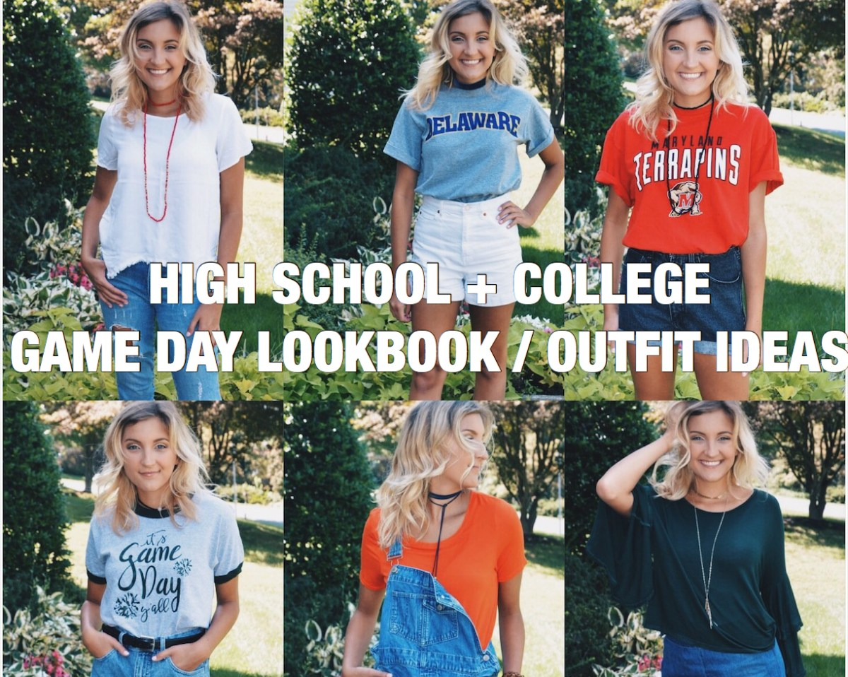 High School + College Game-Day Lookbook // 10 Outfit Ideas – Styled