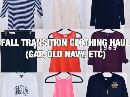 Fall Clothing Haul #1