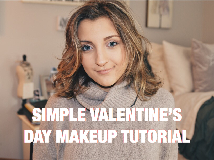 The Perfect Valentine S Day Makeup Tutorial Styled By Mckenz