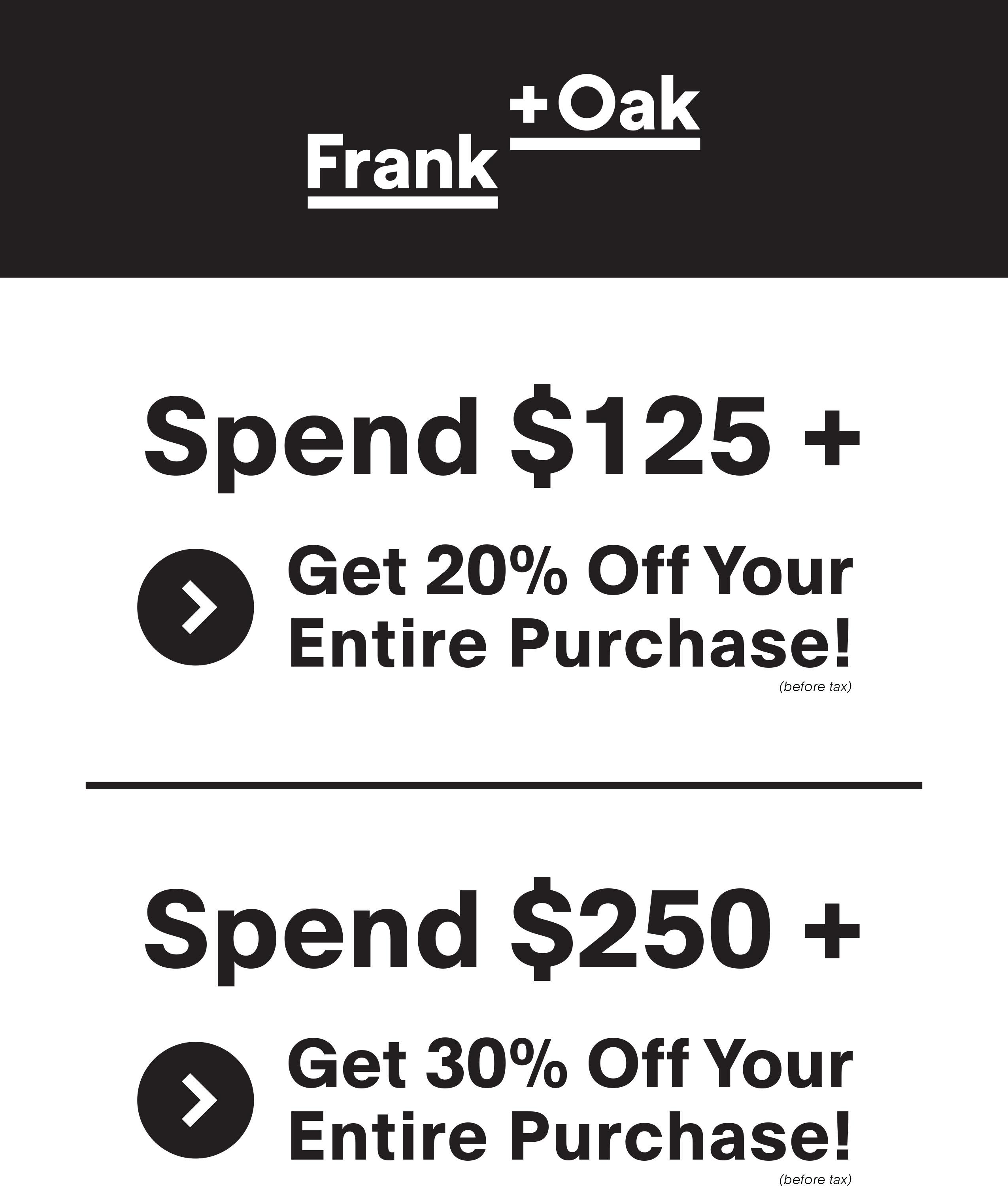 Last Chance To Shop The Frank Oak Toronto Warehouse Sale