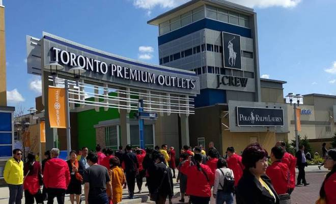 toronto premium outlets job fair