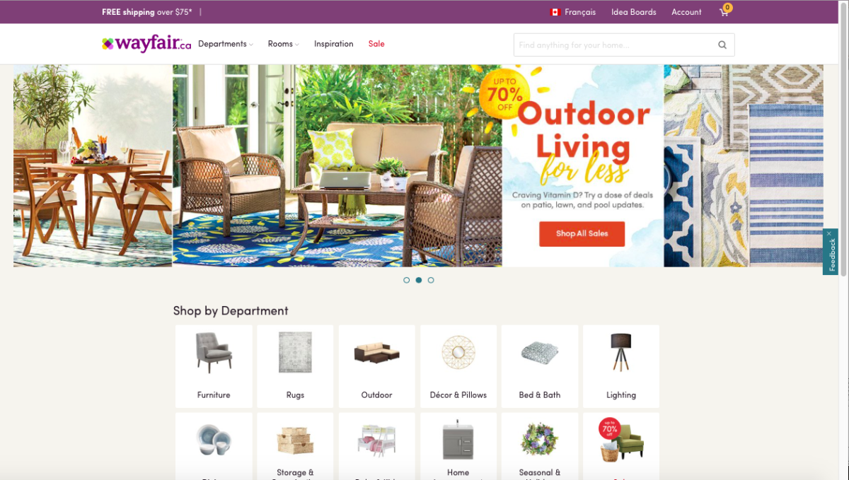 Home decor websites canada 28 images home decor for Wayfair home decor canada