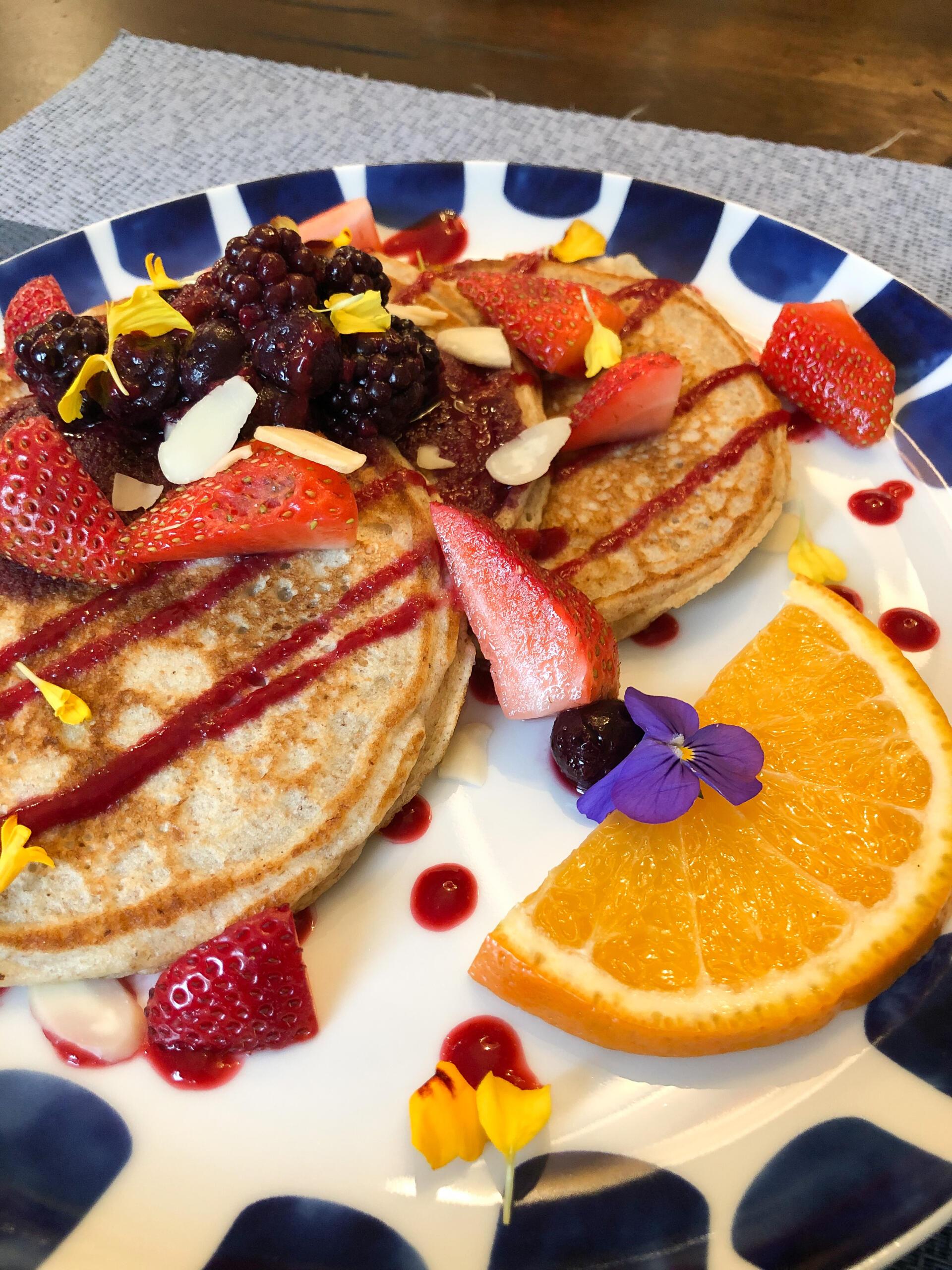 Breakfast at Wellington Willows B&B