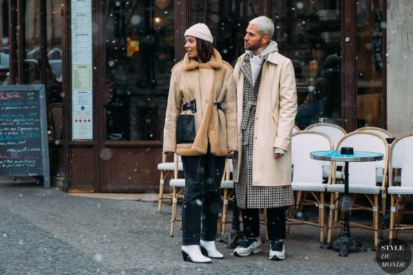 Paris FW 2018 Street Style: Alice Barbier & JS Roques ...