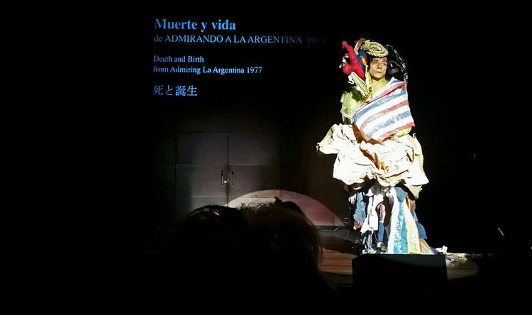 Takao Kawaguchi sobre Kazuo Ohno en el Museo Reina Sofía