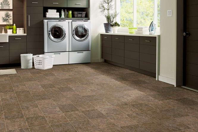 flooring for your laundry room