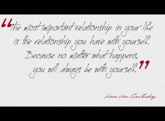 Diane Von Furstenberg Quote: Quote Of The Day: Diane Von Furstenberg On Loving Yourself