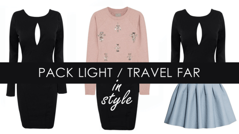 Carry On 101: How To Pack Lightly & Travel In Style