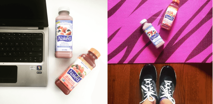 Morning workout and work with Naked.